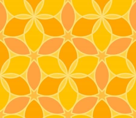 Seamless vector geometric yellow pattern Stock Vector - 14571749