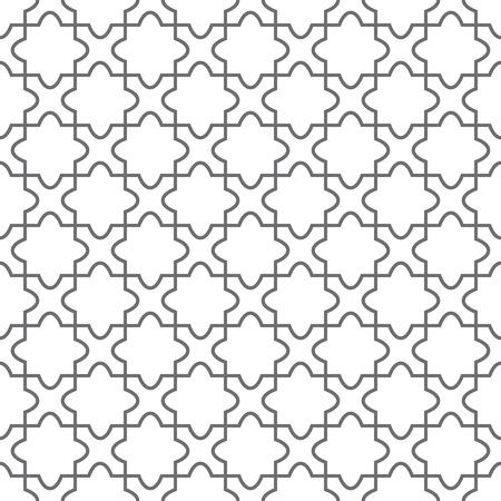 Simple geometric ornament on the floor
