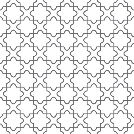 geometric pattern in a square: Simple geometric ornament on the floor