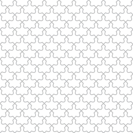 Simple geometric  pattern - seamless abstract monochrome design Vector