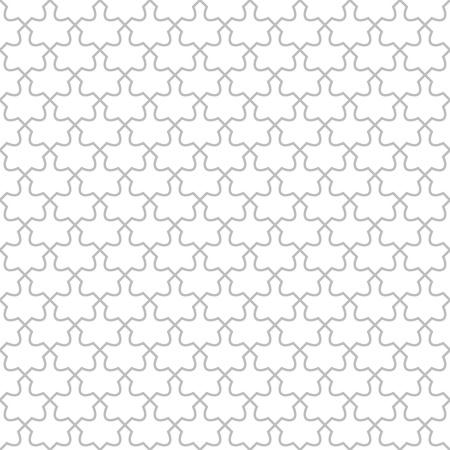 flooring design: Simple geometric  pattern - seamless abstract monochrome design Illustration