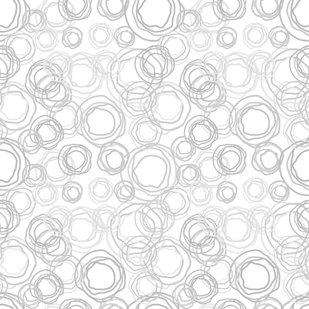 Seamless  abstract texture - gray jagged rings Stock Vector - 15487855