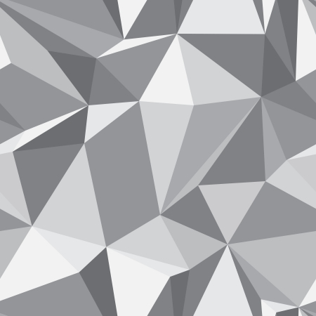 Diamond shape seamless pattern - abstract polygon geometric mosaic texture Vettoriali