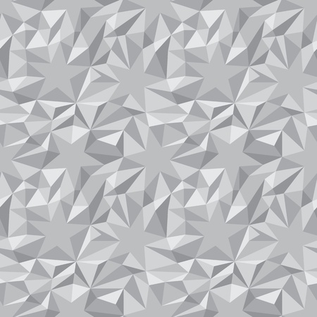 Vector monochrome abstract texture - the stars and triangles Stock Vector - 15868686
