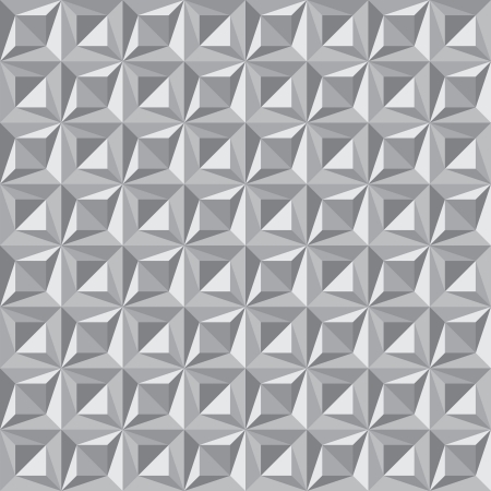 Seamless pattern of triangles - vector background eps8 Vector