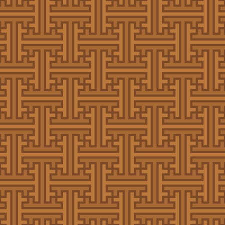 indonesia culture: Vector background - seamless ethnic pattern of swastikas  Indonesia Illustration