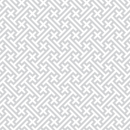 Vector background - gray seamless geometric pattern Vector