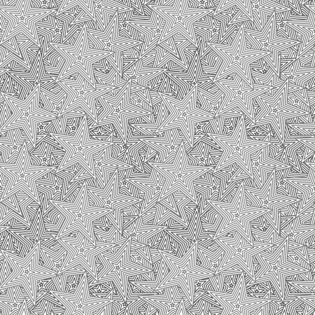 Abstract seamless pattern with stars - vector background Stock Vector - 16908635