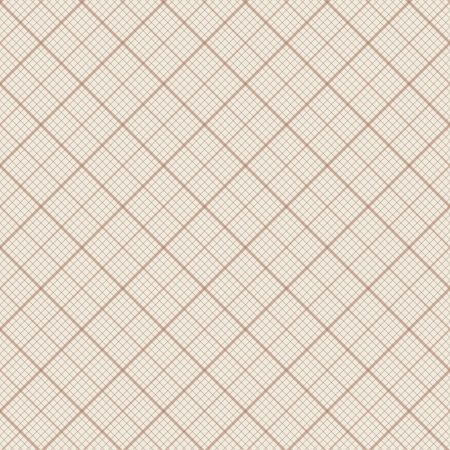 Diagonal vector seamless background - retro millimeter paper pattern Vector