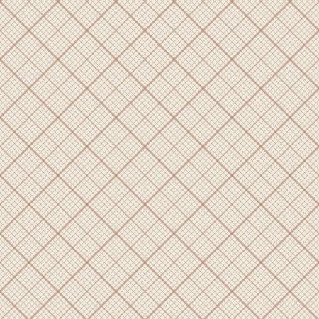 Diagonal vector seamless background - retro millimeter paper pattern Vettoriali
