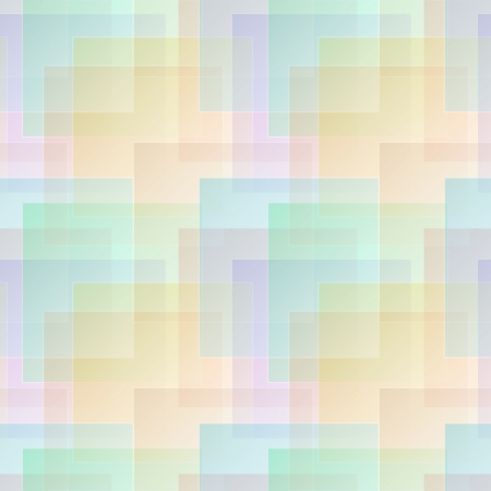 Color abstract geometric seamless vector pattern in pastel colors Vector