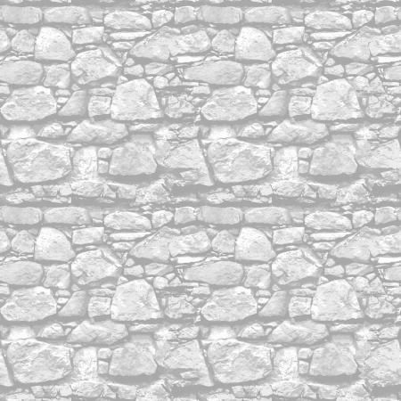 자갈: 돌 벽 - 원활한 벡터 현실적인 질감