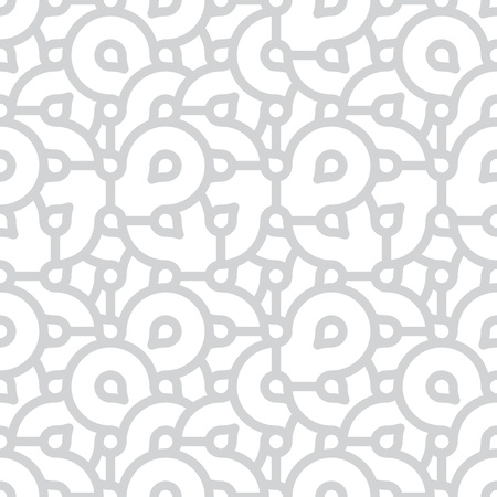 Vector seamless pattern - abstract grey and white grunge graphical background Stock Vector - 17924390