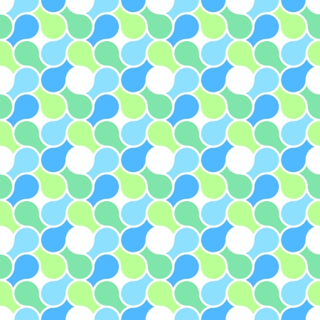 Vector seamless pattern - abstract blue and green pastel color wrapping texture Stock Vector - 17924396
