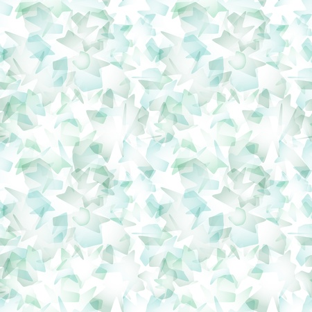 Vector seamless pattern - simulating watercolor brush strokes on white paper Vector