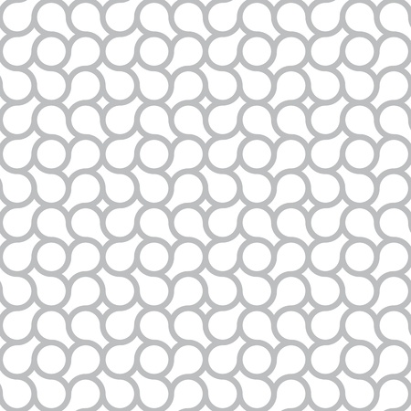 Vector seamless pattern - the simple gray abstract background Illustration