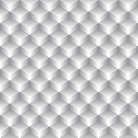 halftone cover: abstract seamless simple geometric texture - gray boxes Illustration