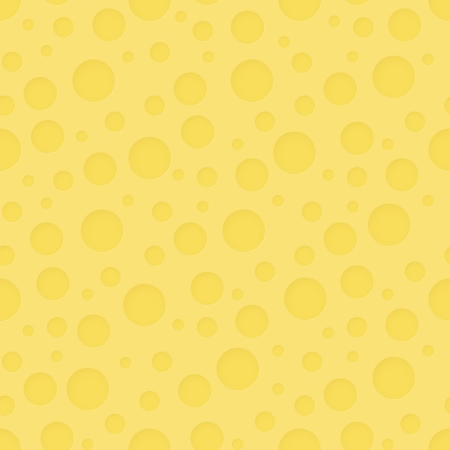 Vector seamless pattern - abstract cheese beautiful background Vector