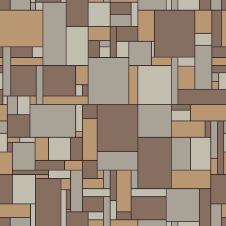 Seamless vector pattern of the surface of the linoleum in vintage colors Vector