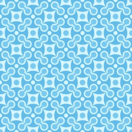 Simple vector blue seamless geometric square pattern