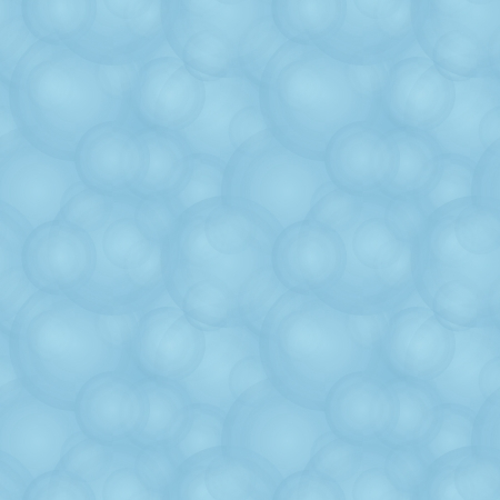 chaotical: Vector seamless abstract pale pattern - blue foam