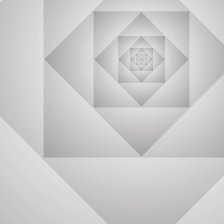 gray background. Abstract geometric illustration design prototype Vector