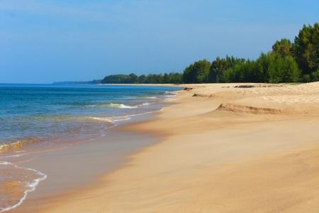 untouched: Untouched deserted beach  Thailand, Phuket