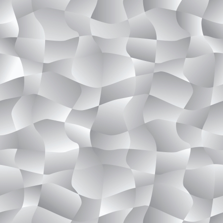 Vector abstract background - seamless monochrome pattern with curves scraps Vector