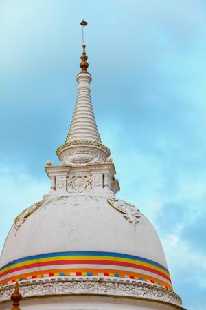 dagoba: Stupa (dagoba) in Kande Viharaya Temple. Bentota, Sri Lanka