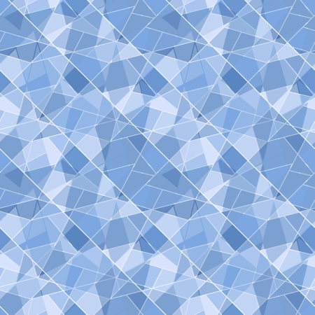Vector seamless geometric brilliant pattern - abstract background for design Vector