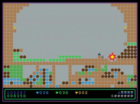 Vektor-Bild sieht aus wie ein Screenshot von dem alten Computer-Spiel. Vorlage für das Design