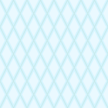 Abstract geometric seamless texture - blue lines forming the diamonds Vector