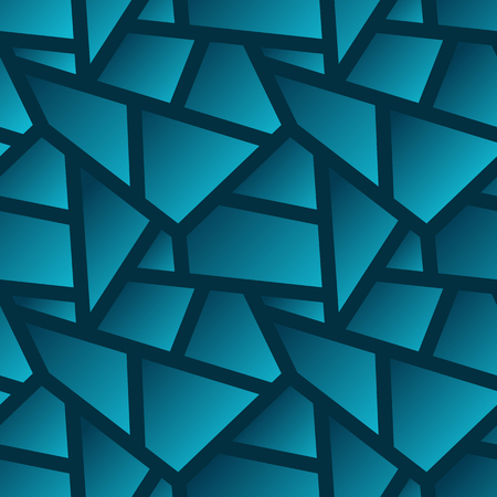 Vector seamless geometric poligonal pattern - abstract background for design with gradients Vector