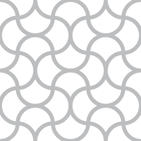 Vector seamless monochrome pattern Illustration