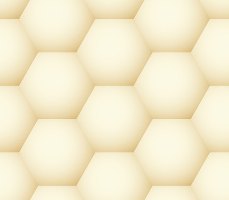 Vector seamless pattern - geometric honeycomb like simple modern volume background