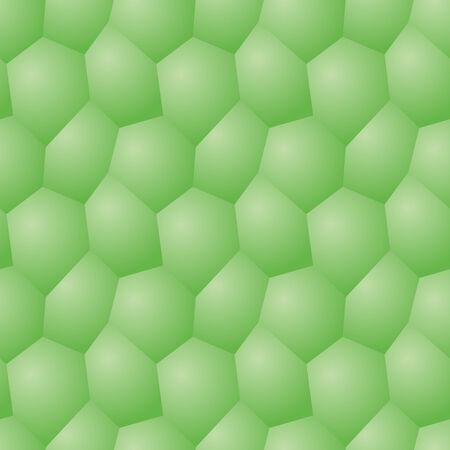 seamless pattern - chaotic modern volume polygonal gray background Stock Photo