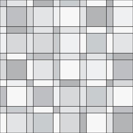 seamless pattern - squares geometric modern monochrome simple background photo
