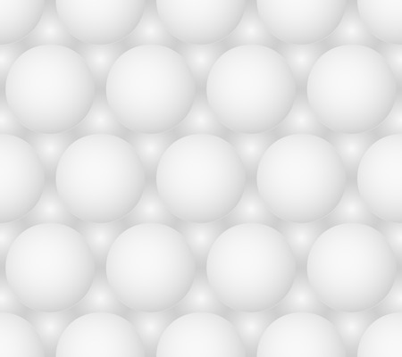 monochromatic: Abstract gray bubbles vector seamless hexagonal pattern. Eps8 Illustration