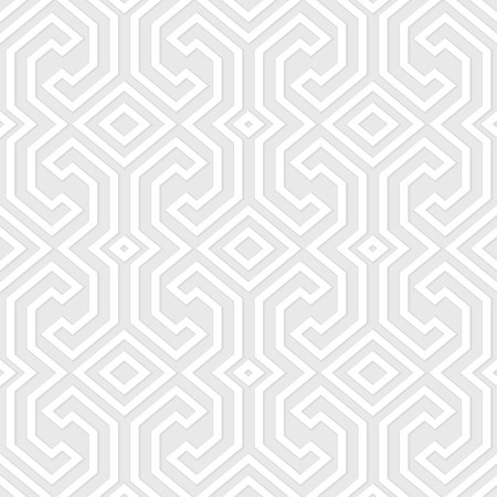 Seamless vintage gray pattern. Ethnic vector geometric textured background from Sulawesi island, Indonesia. Vector