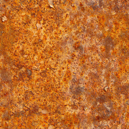 Seamless texture of rusty metal surface. Grunge photographic pattern for design photo