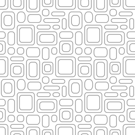 wall cell: Seamless vintage pattern. Geometric vector textured light gray background Illustration