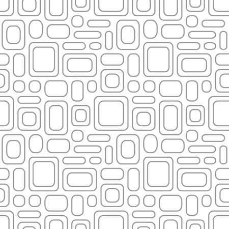 amorphous: Seamless vintage pattern. Geometric vector textured light gray background Illustration