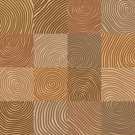 cut logs: Abstract simple geometric wooden like vector pattern -  background for design Eps8