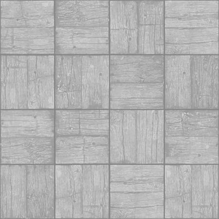 Old parquet floor background - vector monochrome grunge element for design in eps8 Vector