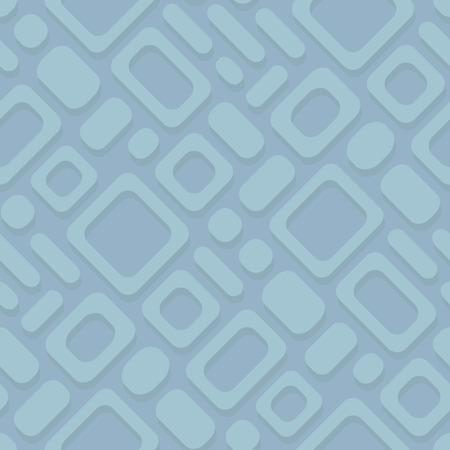 resfriado comun: Simple vector geom�trico patr�n diagonal abstracta - marcos rectangulares sobre un fondo azul. Eps8