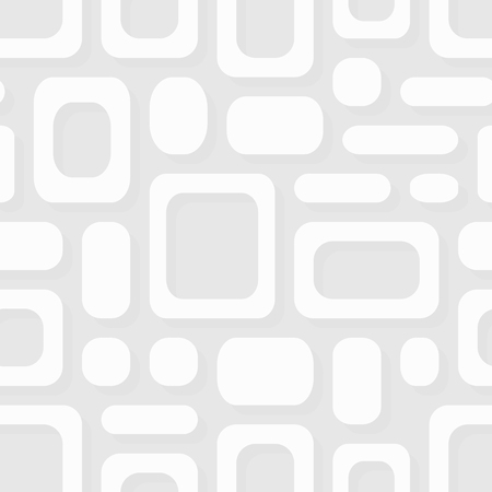 gray texture background: Simple geometric vector pattern - white frames abstract ornament Illustration