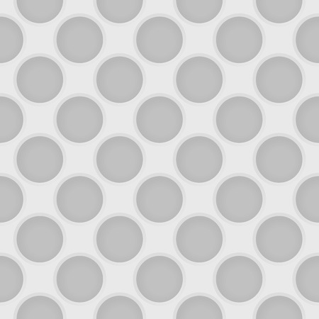 seamless metal: Vector perforated light gray seamless pattern. Industrial abstract background for design Illustration