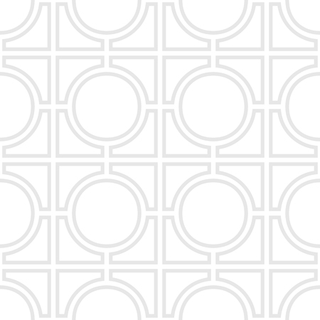 2d wallpaper: Simple geometric seampess pattern - Gray outlines on white background.