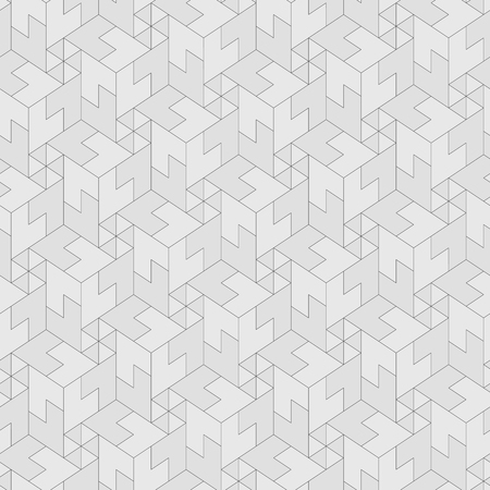 continuous: monochrome pattern - geometric seamless simple black and white modern texture.