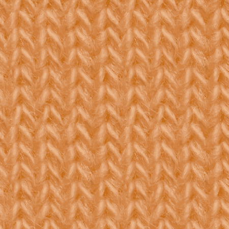yarn: Yellow knitted fabric made of yarn textured seamless background.